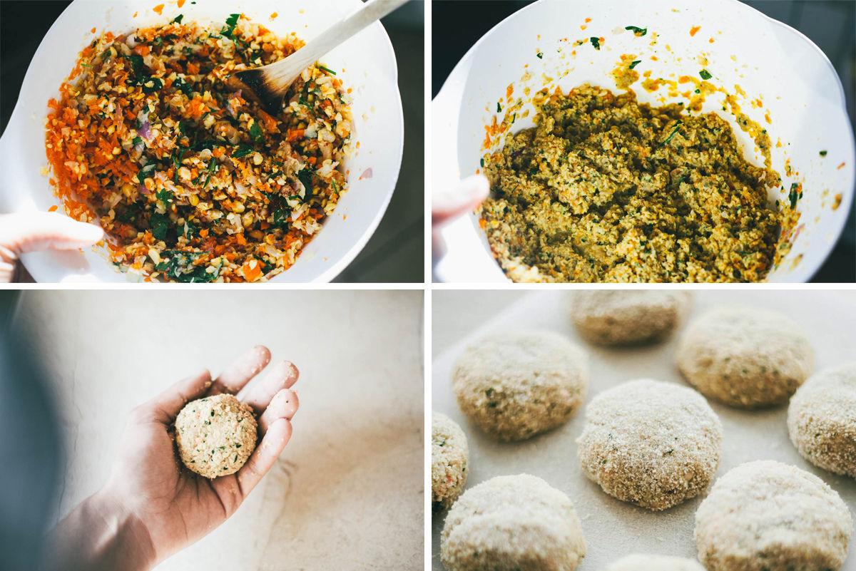 making-falafel