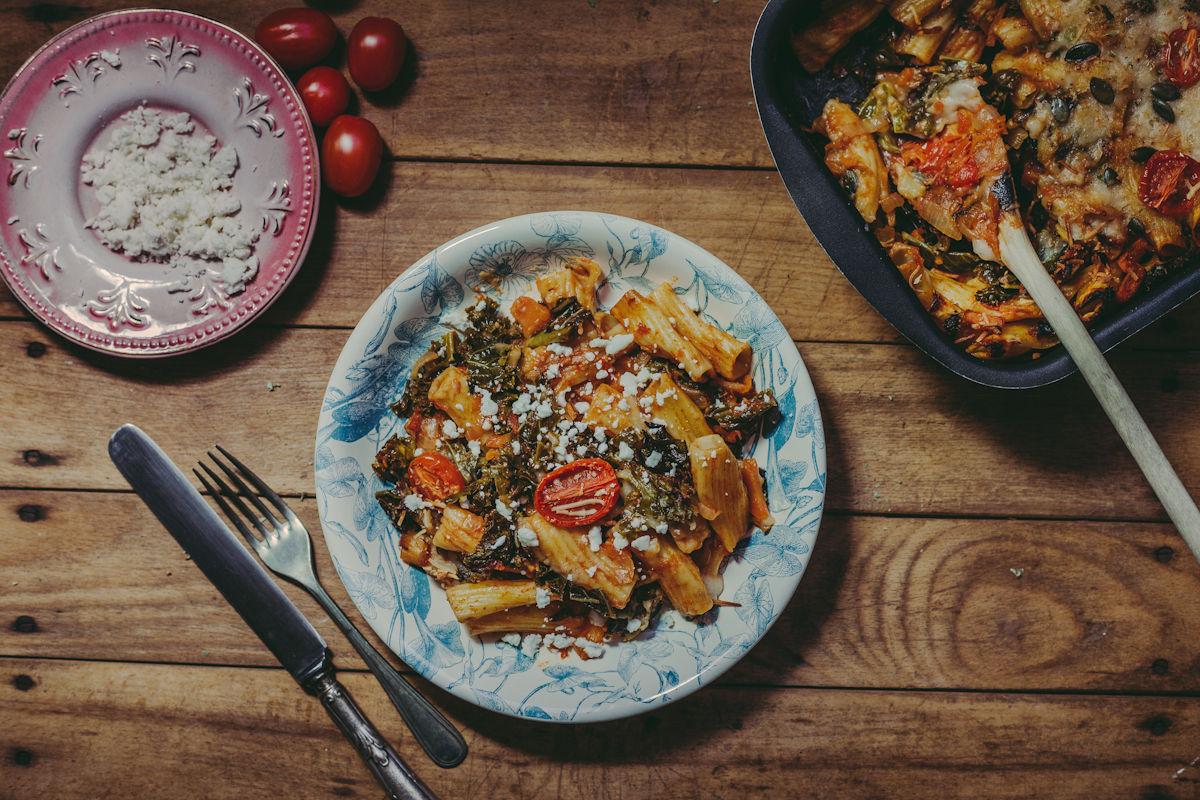 pasta-kale-dish